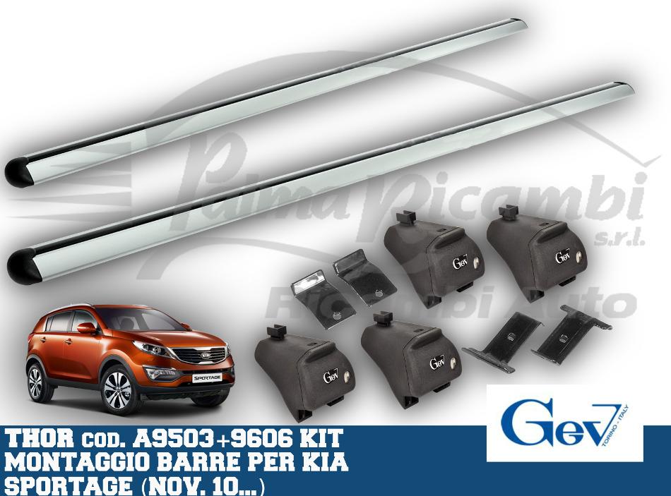 a9503 9606 gev barres de thor aluminium set hyundai kia. Black Bedroom Furniture Sets. Home Design Ideas