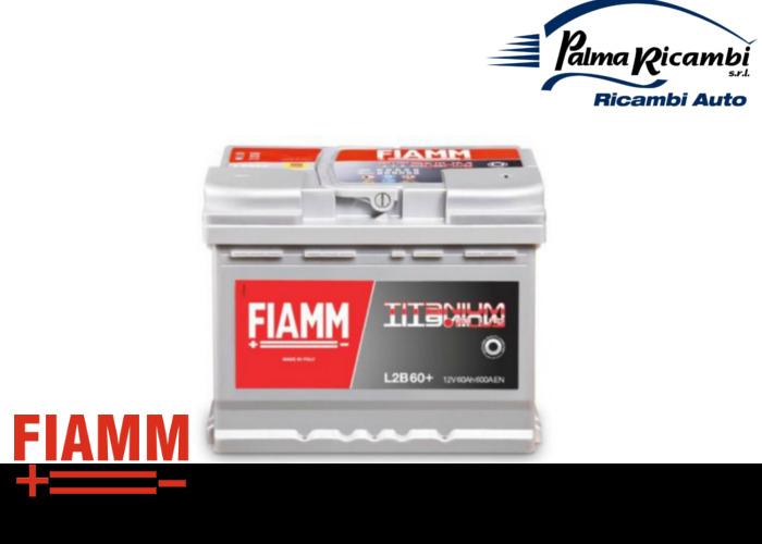 batteria auto fiamm titanium plus cod l2b60 60ah 600a. Black Bedroom Furniture Sets. Home Design Ideas