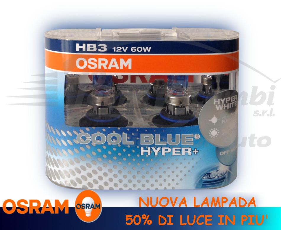 light bulbs car osram hb3 12v 60w cool blue hyper white. Black Bedroom Furniture Sets. Home Design Ideas