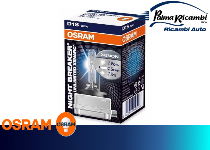 lampada osram d1s 35w night breaker unlimited xenarc ebay. Black Bedroom Furniture Sets. Home Design Ideas