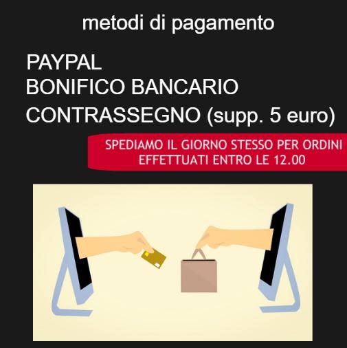 Banner laterale per informazioni sui metodi di pagamento