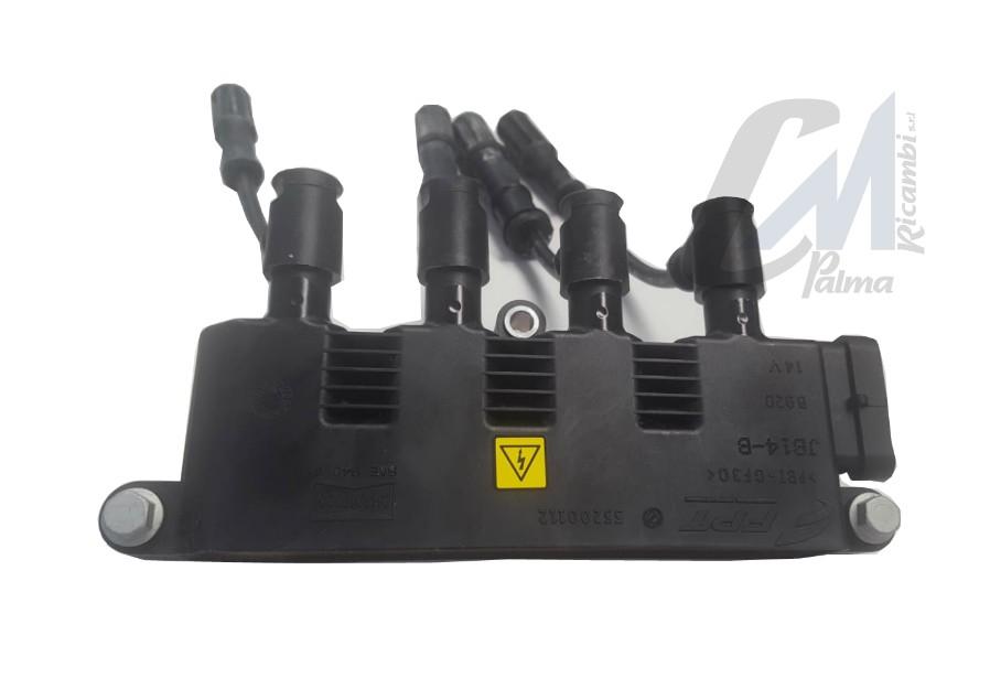 BOBINA CAVI ACCENSIONE FIAT GRANDE PUNTO 199 1.2 1.4 LPG NATURAL POWER 55200112
