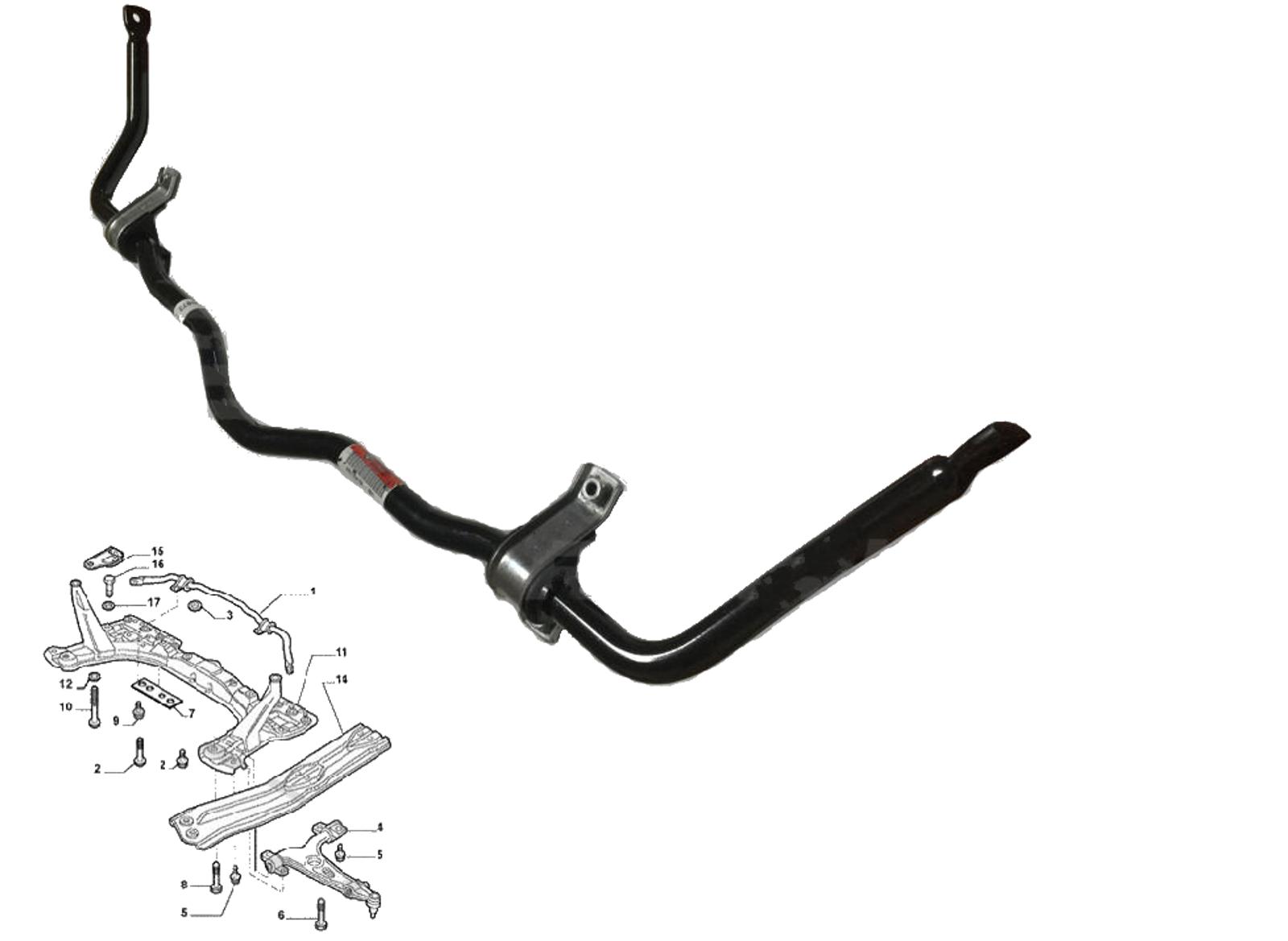 Alfa Roemo 147 156-Avant barre stabilisatrice lien Barres X 2