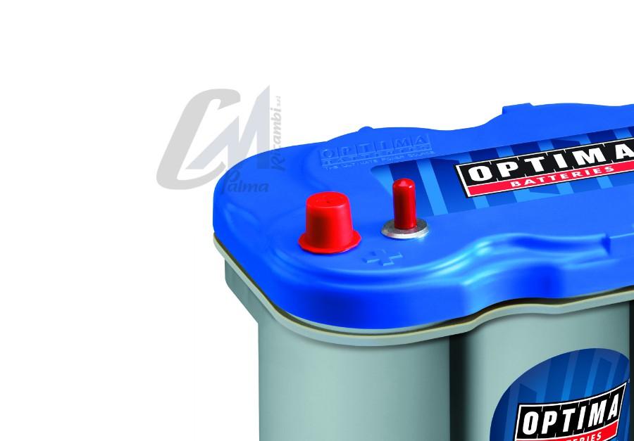 BTDC5.0 BT DC 5.0 BATTERIA ORIGINALE OPTIMA BLUE TOP 12V 66AH 845A 1000A a 0°
