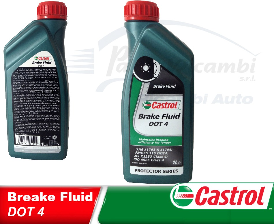 castrol oil brakes break fluid dot 4 1l 4008177071591 ebay. Black Bedroom Furniture Sets. Home Design Ideas