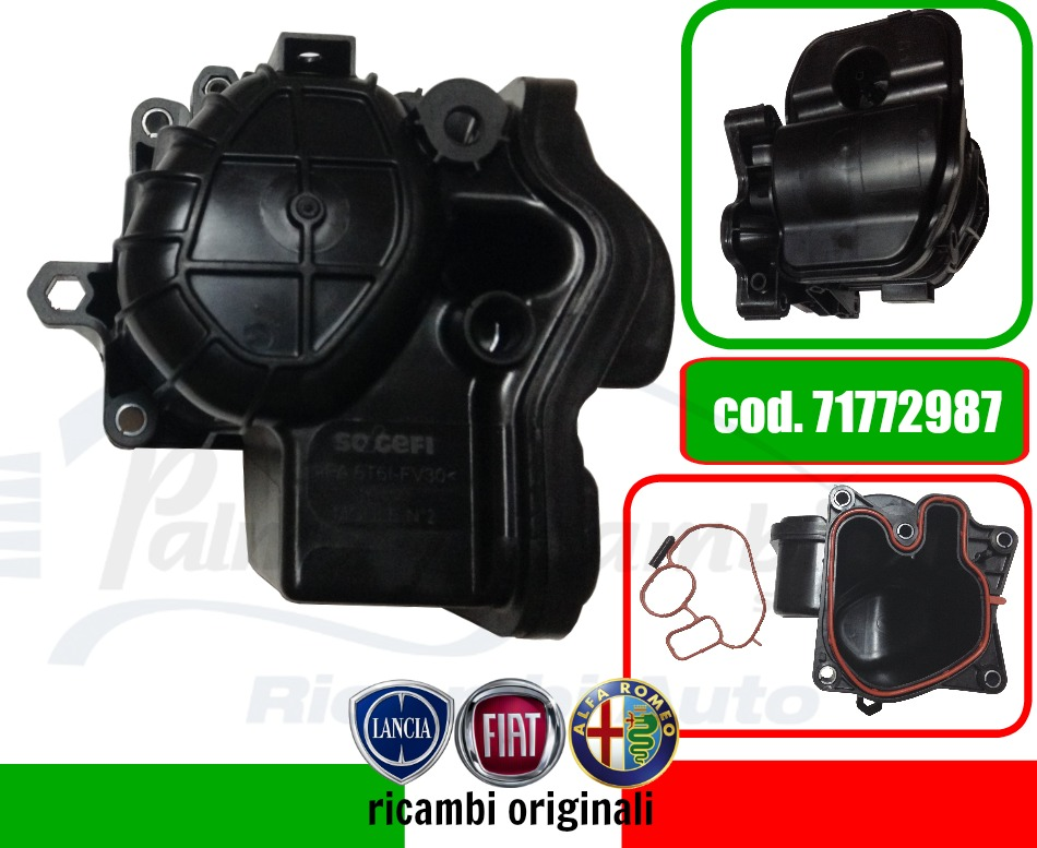 71772987 Abdeckung Wärmetauscher Fiat Ducato Lancia Delta Musa Musa Fll